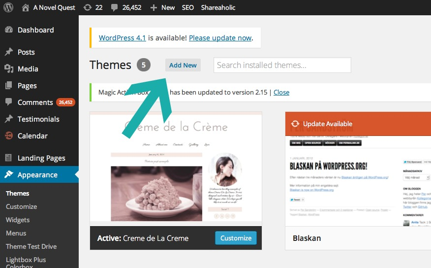 Wordpress Themes 2
